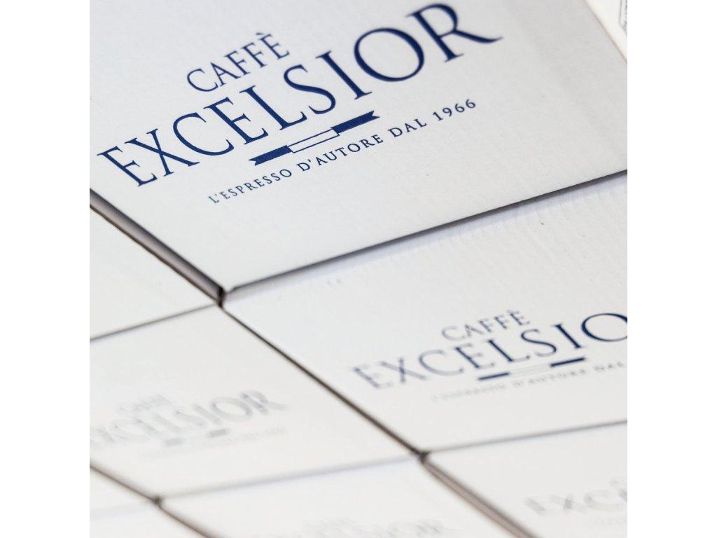 Coffee pods, pody - káva Excelsior DECAFFEINATO (bezkofeinová) Coffee 150ks