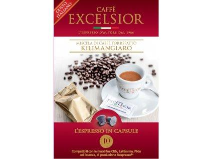 Kapsle Excelsior KILIMANGIARO kompatibilní s Nespresso systémem - balení 20ks