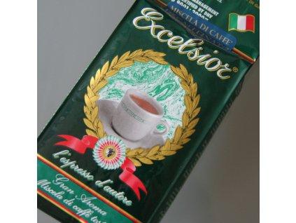Káva Excelsior bezkofeinová - zrnková / mletá 250g
