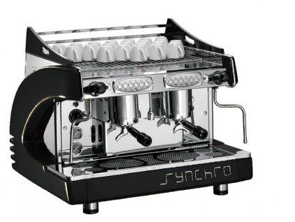 Ryoal Synchro profesionální kávovar - dvou pákový černý