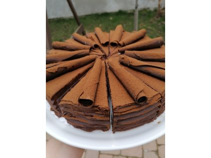 Čokoládový dort 72%