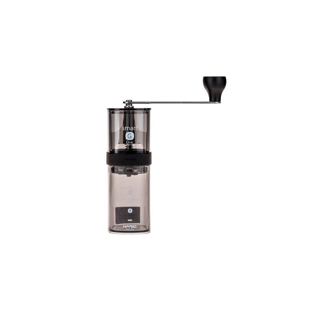 Hario ruční mlýnek na kávu Smart G černý