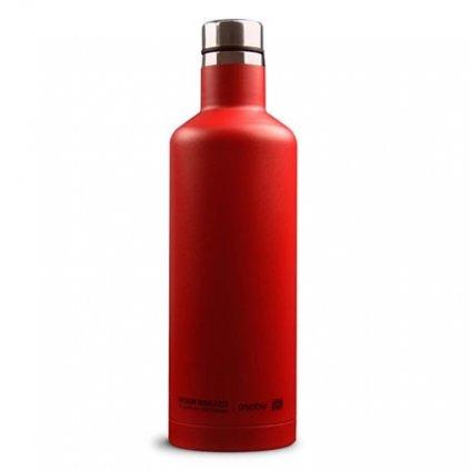 Asobu cestovní termoska TSquare SBV15 červená 450 ml