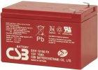 Staniční baterie, záložní zdroj CSB EVH12150F2 12V 15Ah