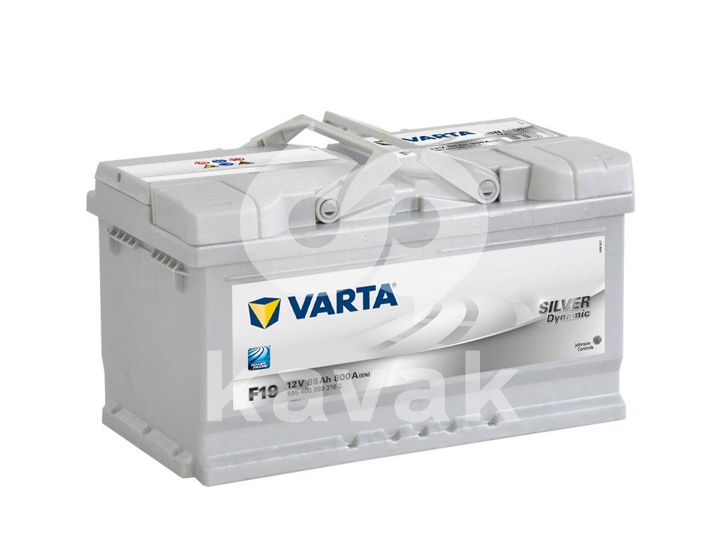 Varta Silver Dynamic 12V 85Ah 800A 585 400 080