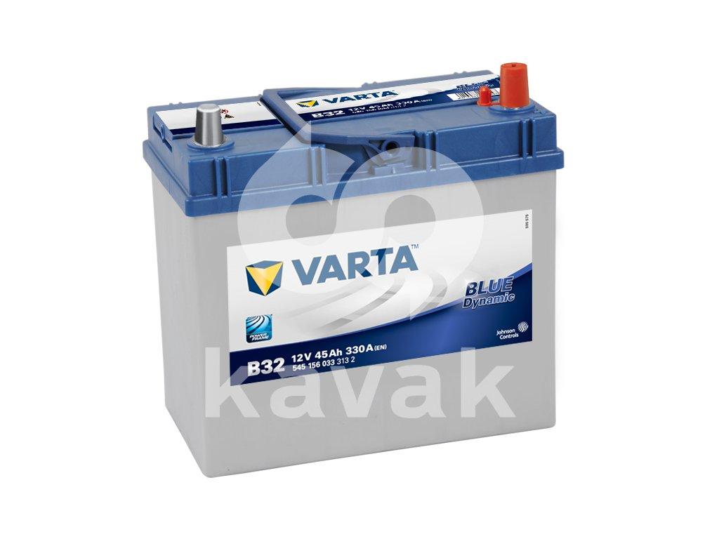 Varta Blue Dynamic 12V 45Ah 330A 545 156 033