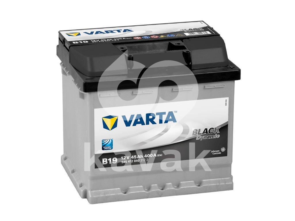 Varta Black Dynamic 12V 45Ah 400A 545 412 040