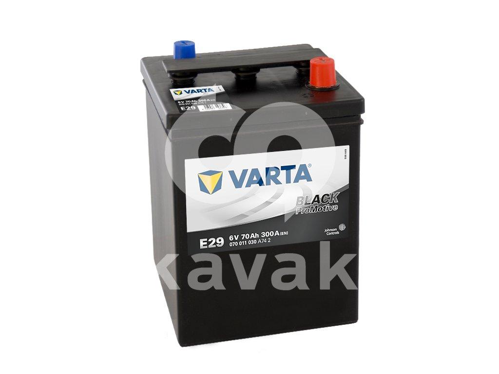 Varta Promotive Black 6V 70Ah 300A 070 011 030