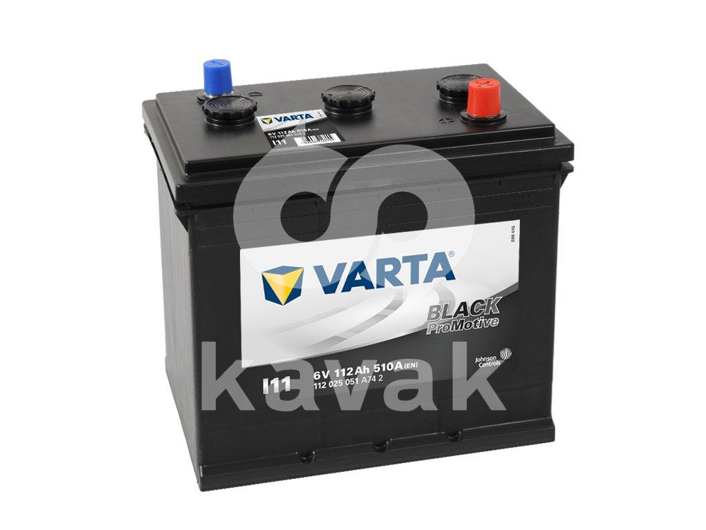 Varta Promotive Black 6V 112Ah 510A 112 025 051