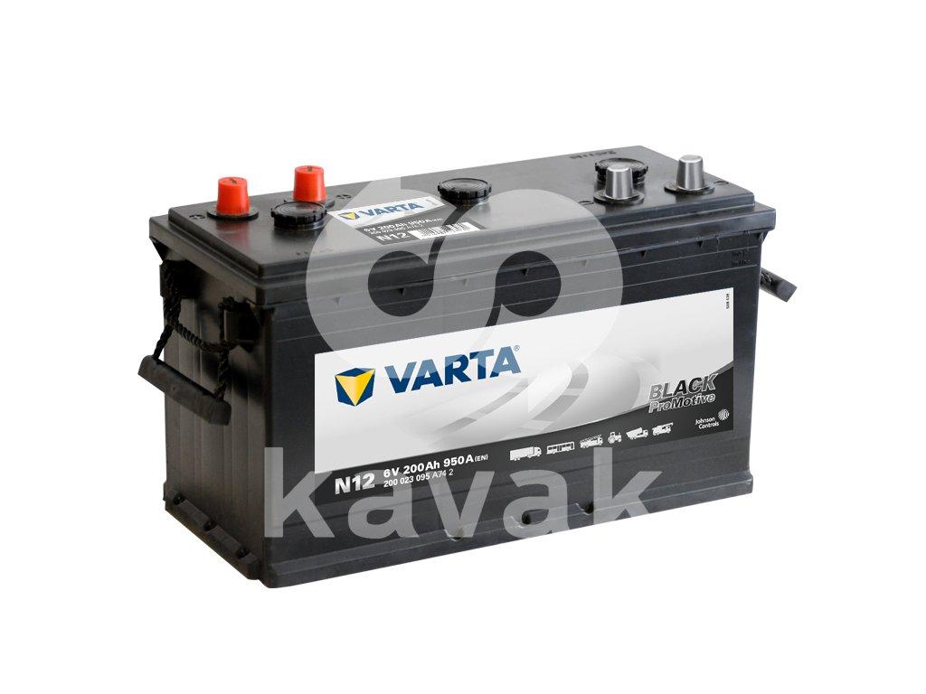 Varta Promotive Black 6V 200Ah 950A 200 023 095