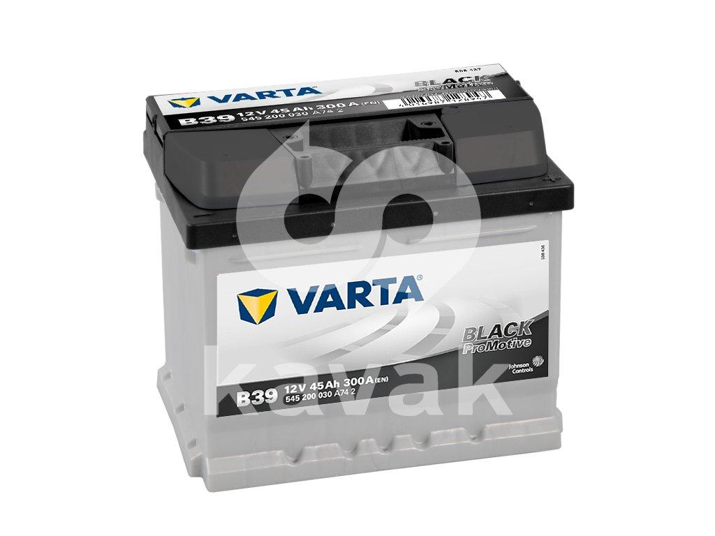 Varta Promotive Black 12V 45Ah 300A 545 200 030
