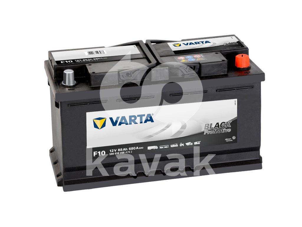 Varta Promotive Black 12V 88Ah 680A 588 038 068