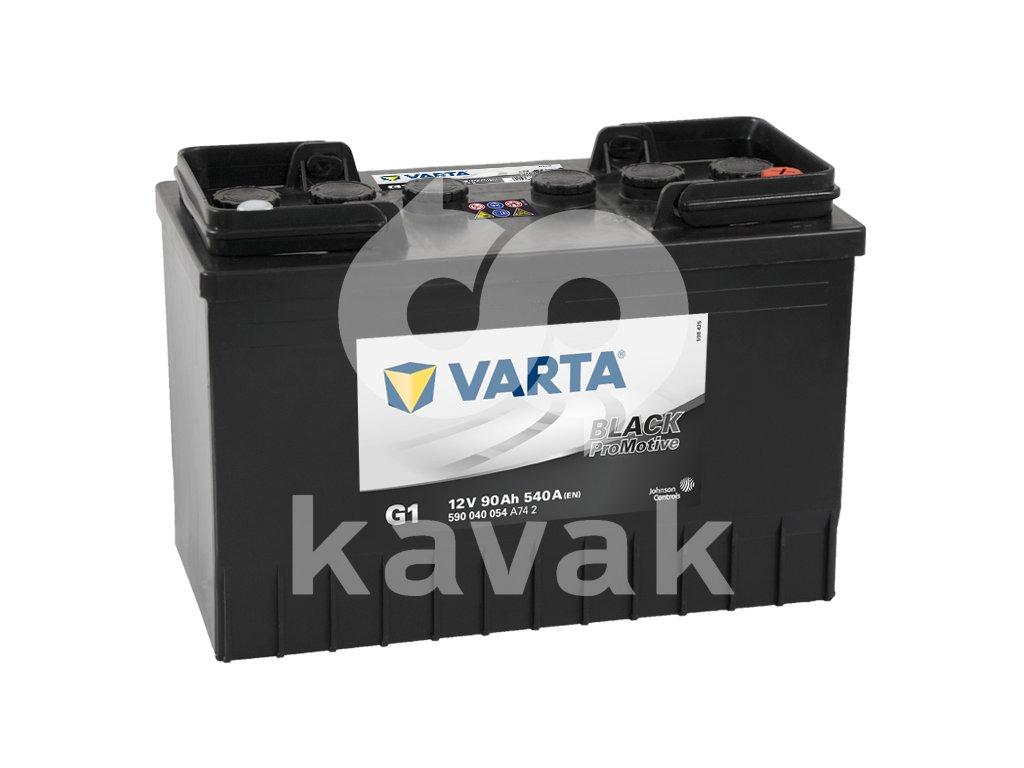 Varta Promotive Black 12V 90Ah 540A 590 040 054