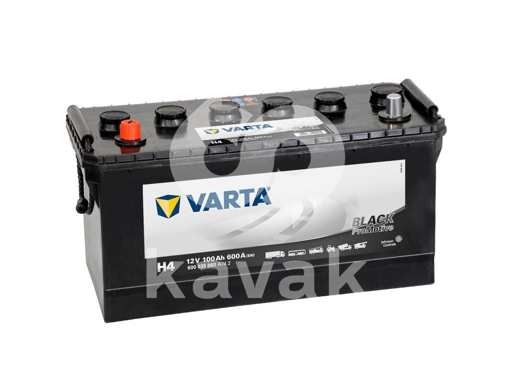 Varta Promotive Black 12V 100Ah 600A 600 035 060