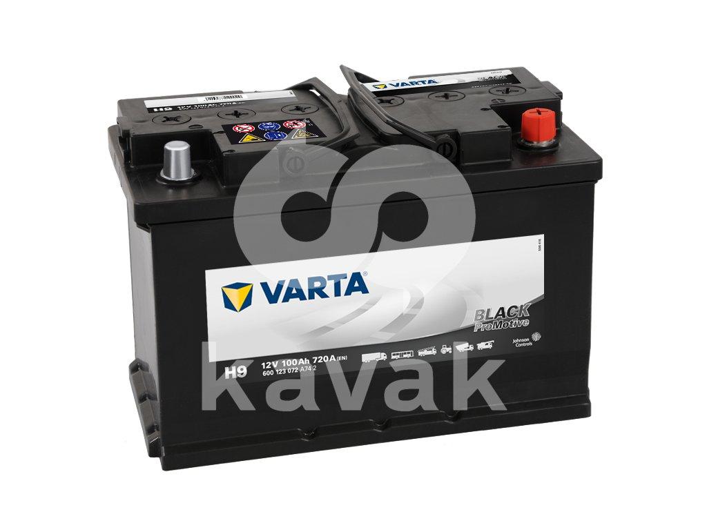 Varta Promotive Black 12V 100Ah 720A 600 123 072