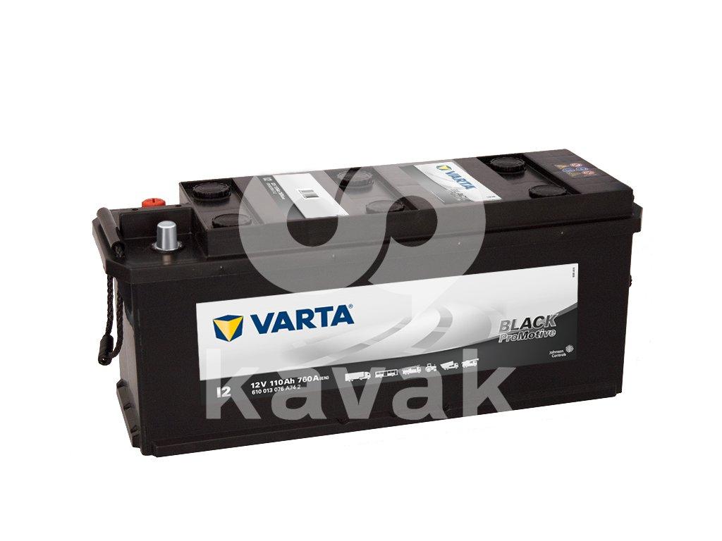 Varta Promotive Black 12V 110Ah 760A 610 013 076