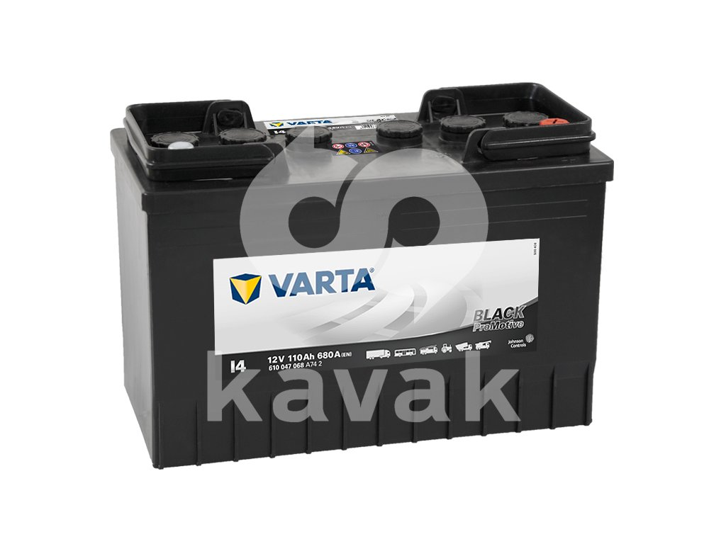 Varta Promotive Black 12V 110Ah 680A 610 047 068