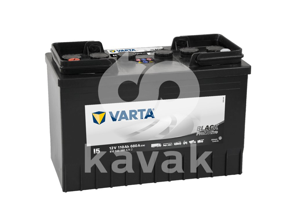 Varta Promotive Black 12V 110Ah 680A 610 048 068