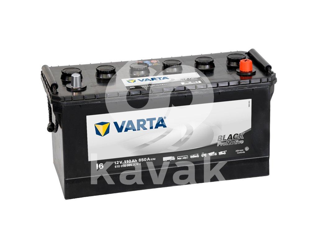 Varta Promotive Black 12V 110Ah 850A 610 050 085