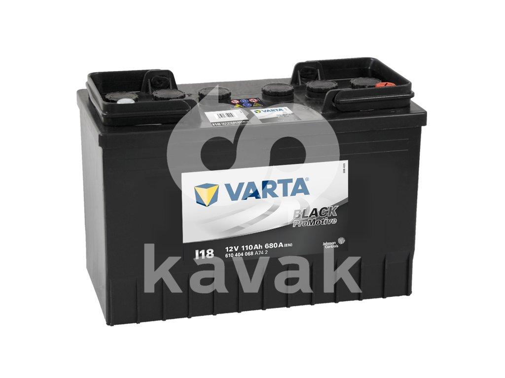 Varta Promotive Black 12V 110Ah 680A 610 404 068