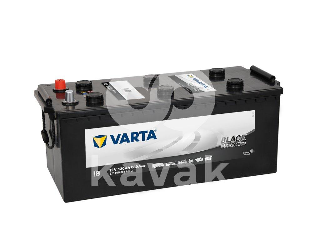 Varta Promotive Black 12V 120Ah 680A 620 045 068