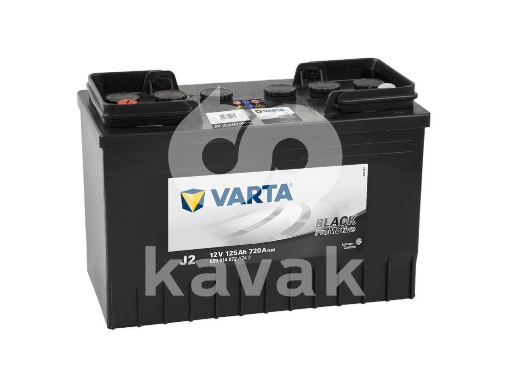 Varta Promotive Black 12V 125Ah 720A 625 014 072