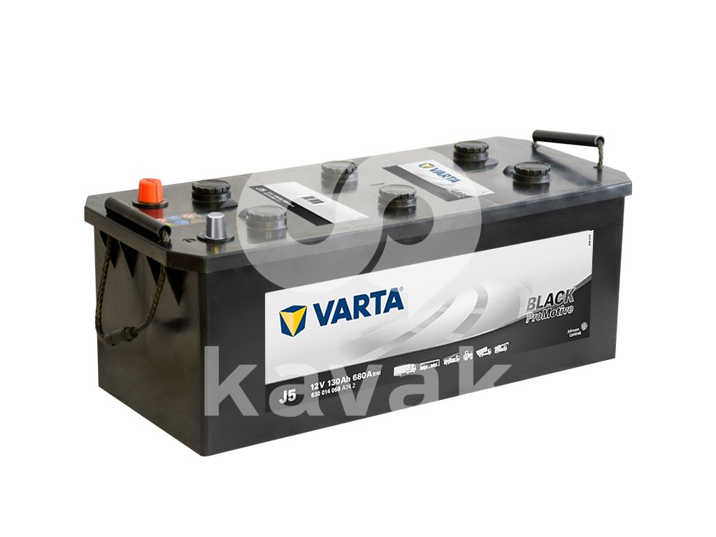 Varta Promotive Black 12V 130Ah 680A 630 014 068