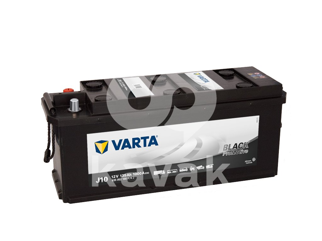 Varta Promotive Black 12V 135Ah 1000A 635 052 100