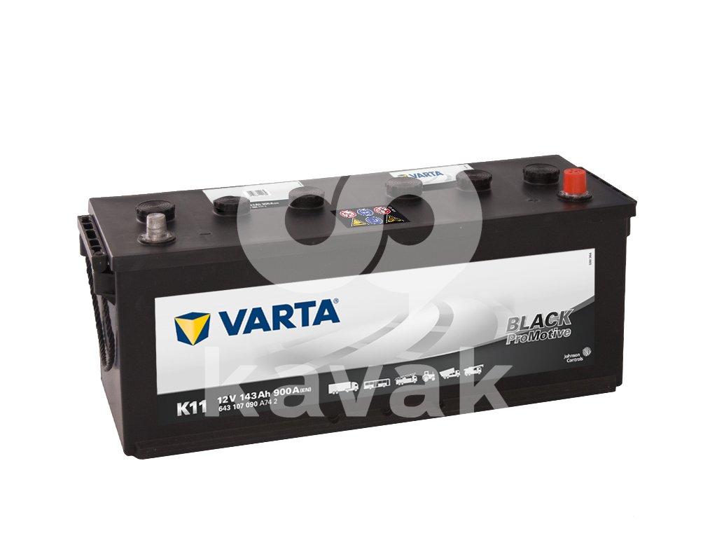 Varta Promotive Black 12V 143Ah 900A 643 107 090