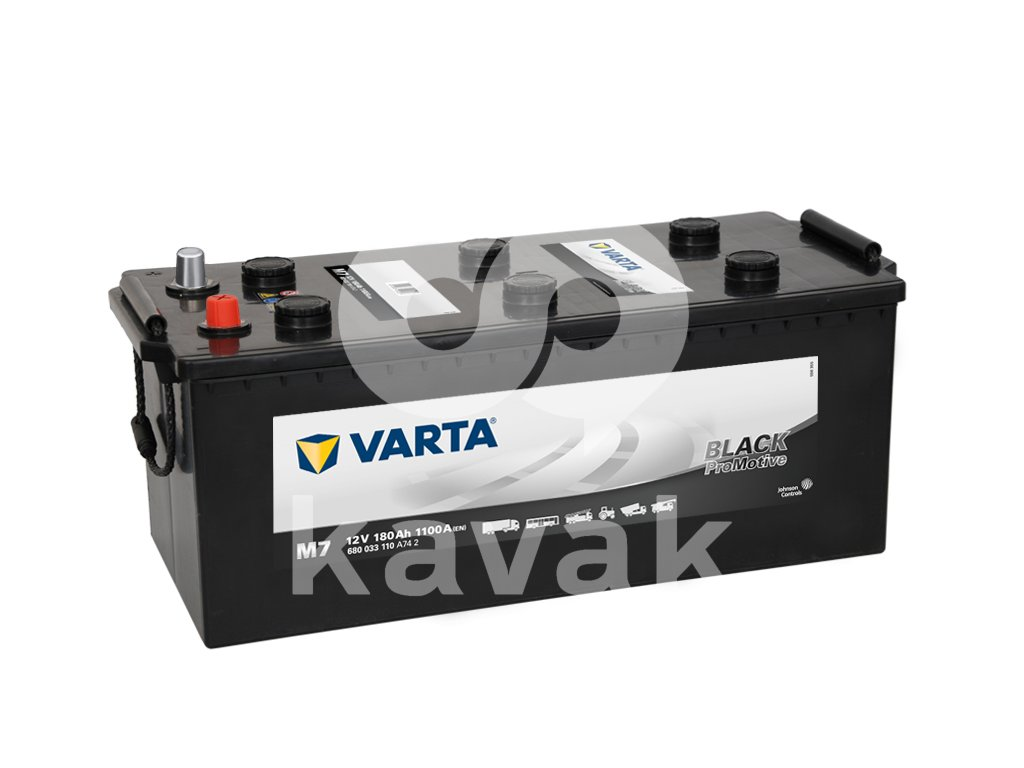 Varta Promotive Black 12V 180Ah 1100A 680 033 110