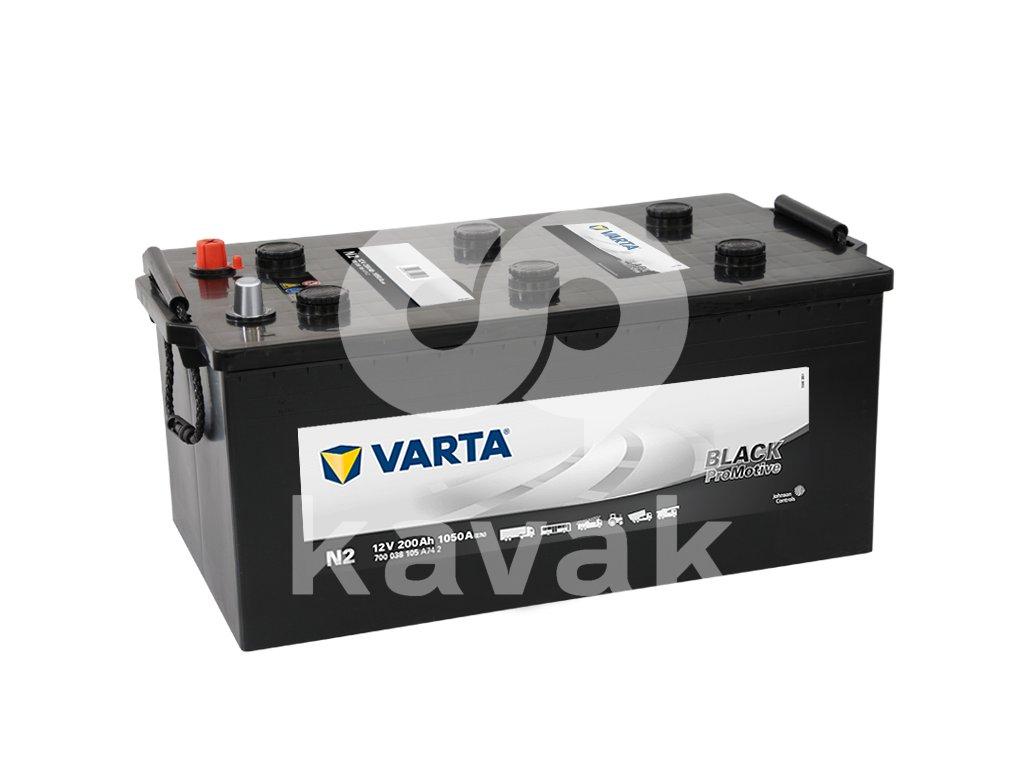 Varta Promotive Black 12V 200Ah 1050A 700 038 105