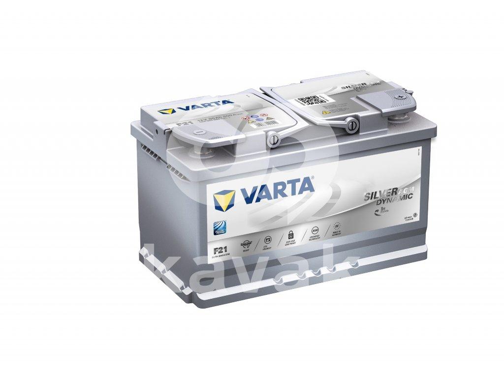 Varta Start-Stop plus AGM 12V 80Ah 800A 580 901 080