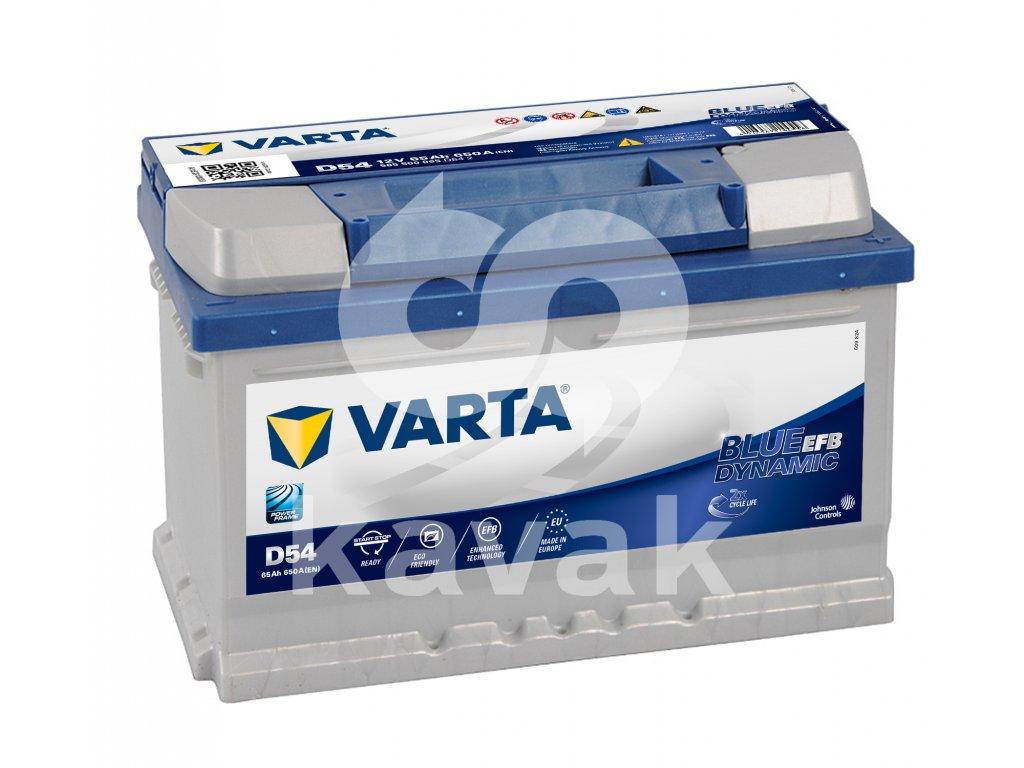 Varta Start-Stop EFB 12V 65Ah 650A 565 500 065