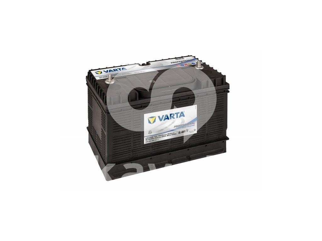 Varta Professional Dual Purpose 12V 105Ah 800A 820 054 080