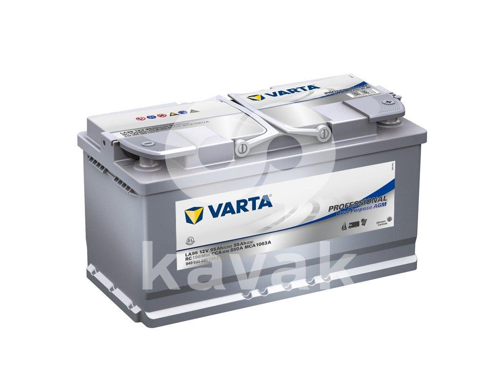 Varta Professional Dual Purpose AGM 12V 95Ah 850A 840 095 085