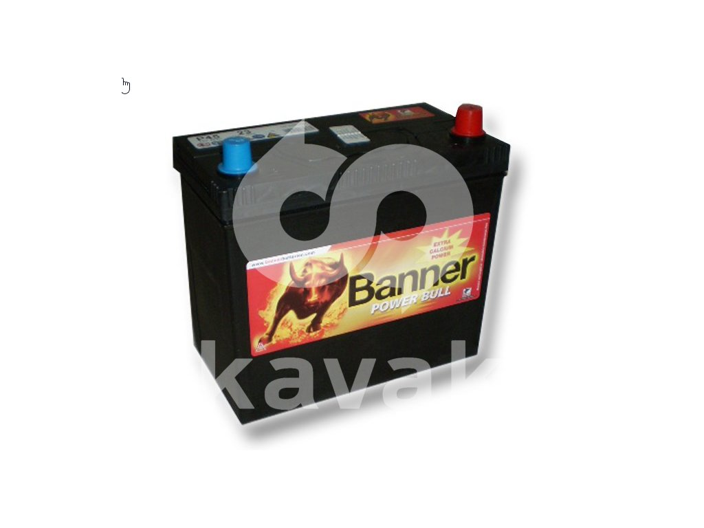 Banner Power Bull 12V 45Ah 360A P45 23