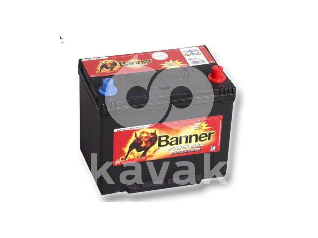 Banner Power Bull 12V 70Ah 570A P70 29