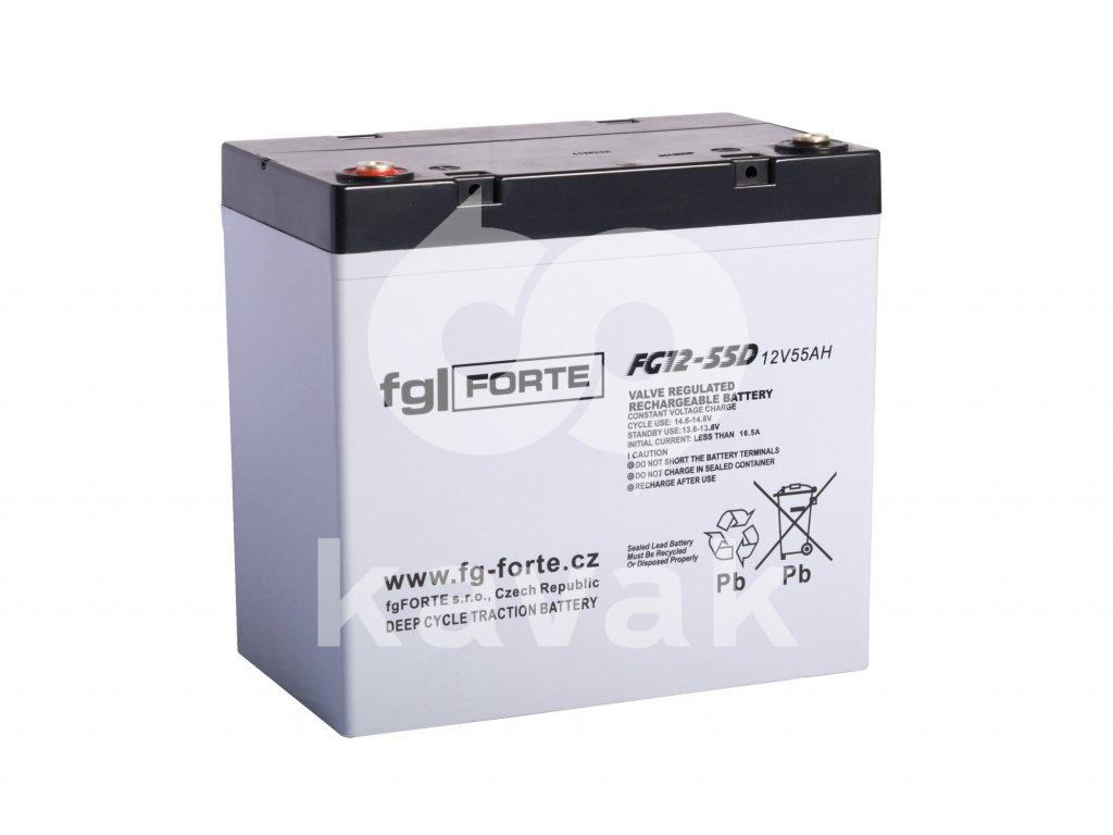 fgFORTE 12V 75Ah FG12-75D