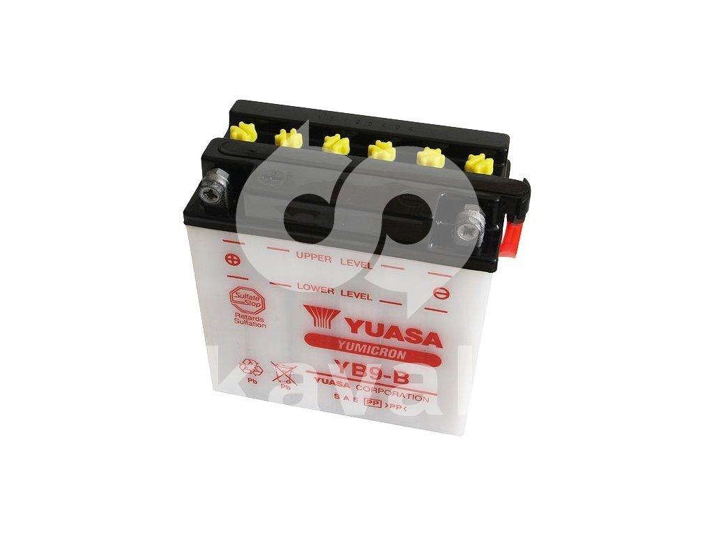 Yuasa Yumicron 12V 9Ah 130A YB9-B