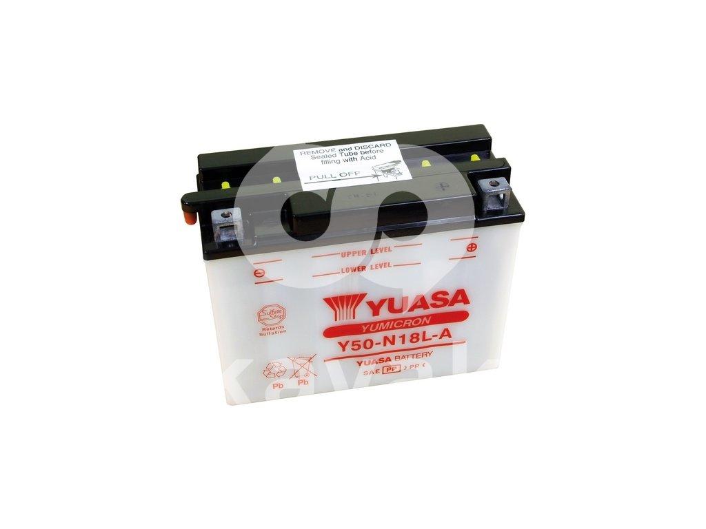 Yuasa Yumicron 12V 20Ah 260A Y50-N18L-A