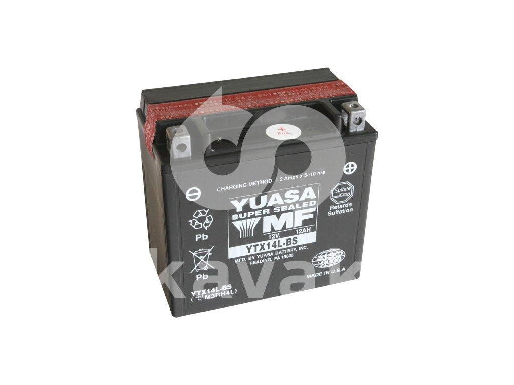 YUASA SUPER MF 12V 12Ah 200A YTX14L-BS