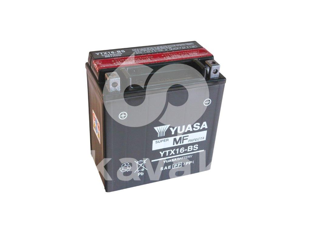 YUASA SUPER MF 12V 14Ah 230A YTX16-BS