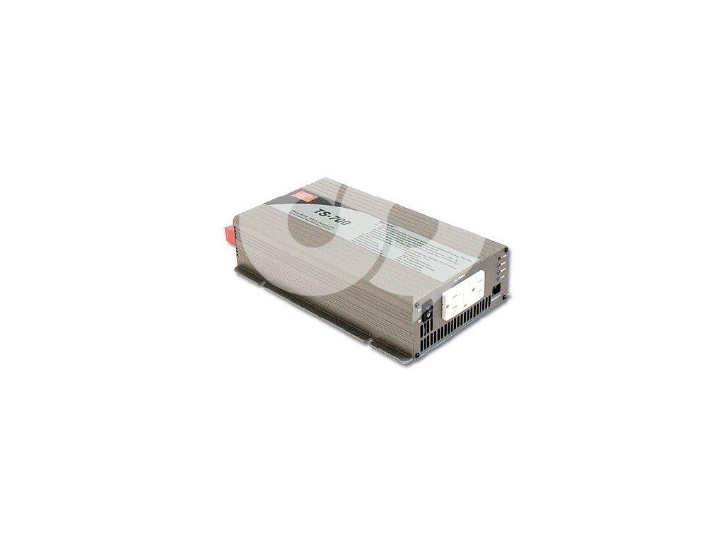 TS 700 248B Měnič napětí sínusový 48V na 230V 700W, DC AC měnič napětí