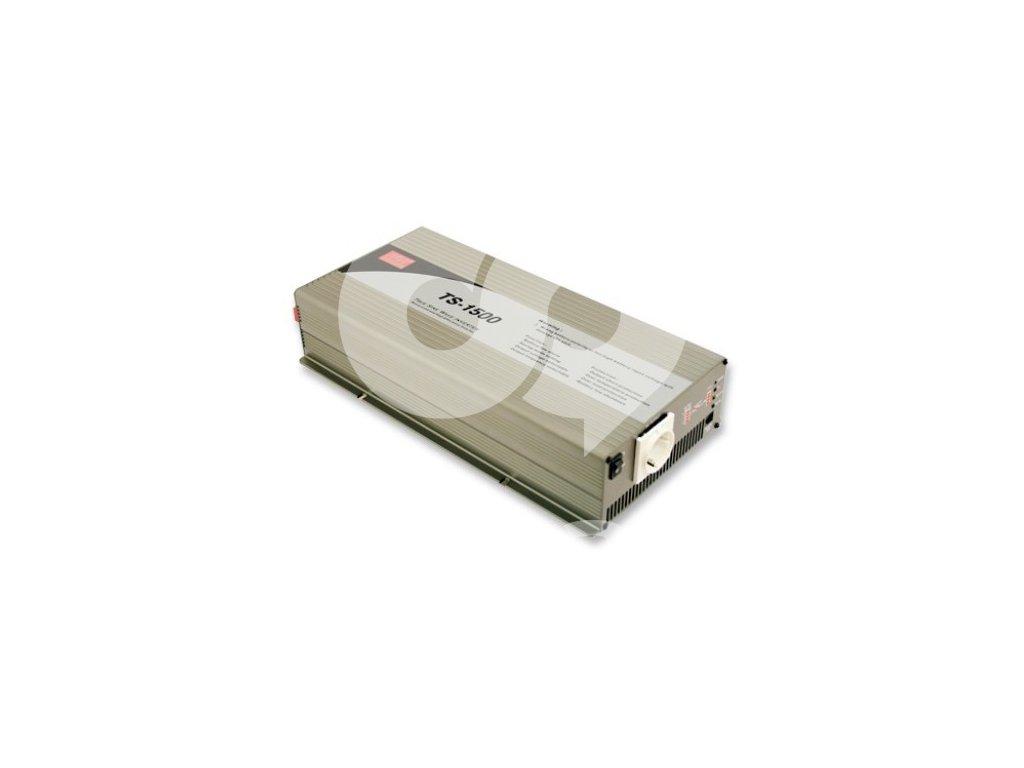 TS 1500 248B Měnič napětí sínusový 48V na 230V 1500W, DC AC měnič napětí