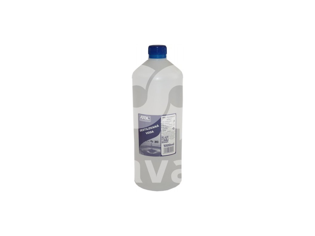 destilovaná voda 1000ml