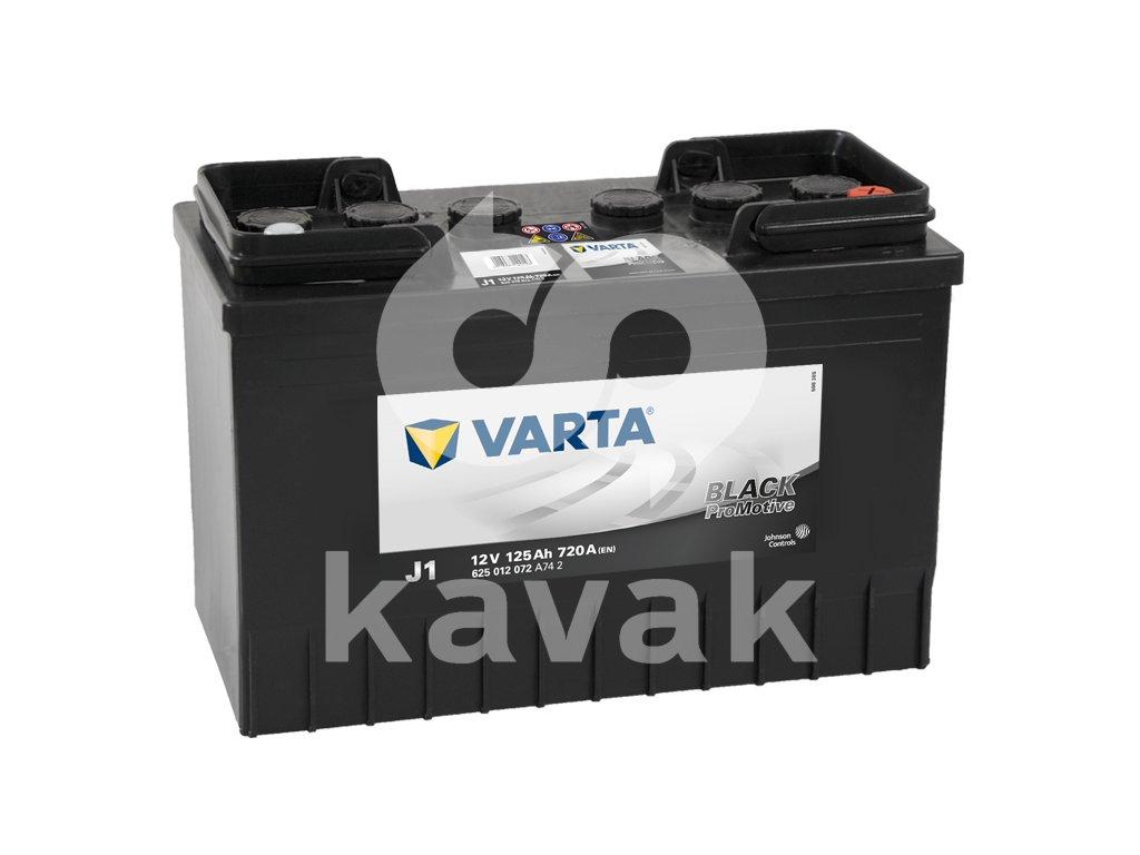 Varta Promotive Black 12V 125Ah 720A 625 012 072