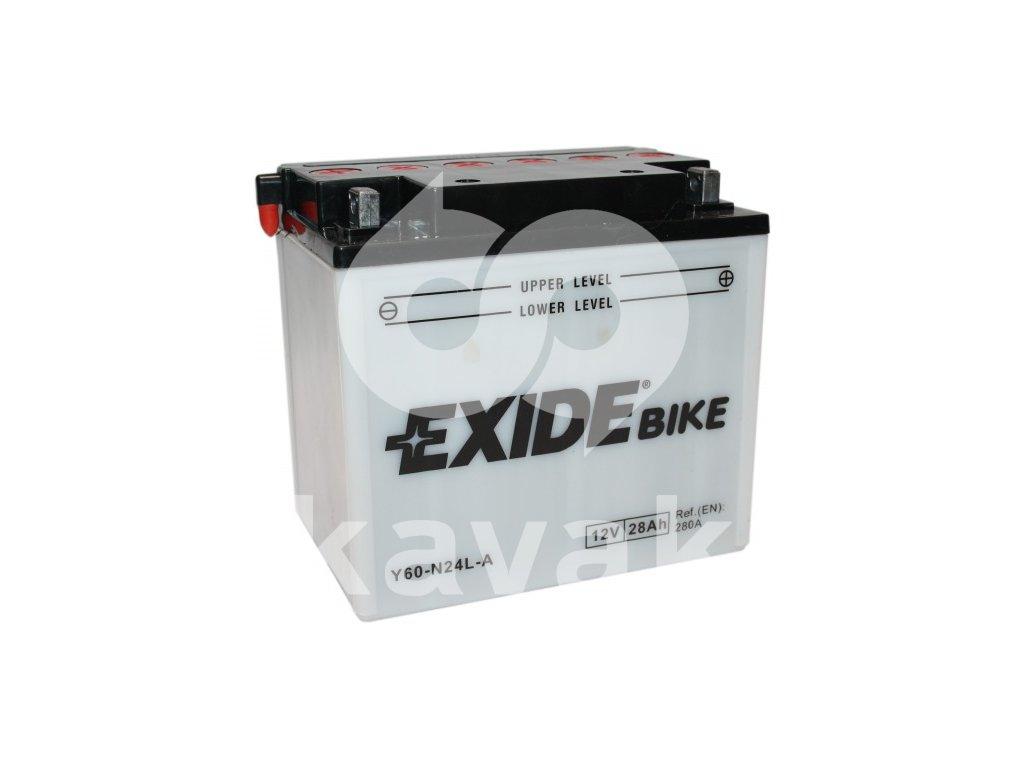 EXIDE 12V 28Ah Y60-N24L-A