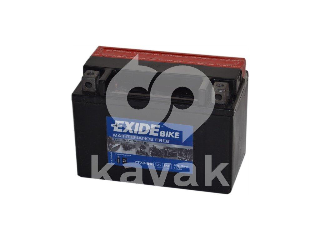 EXIDE 12V 8Ah YTX9-BS
