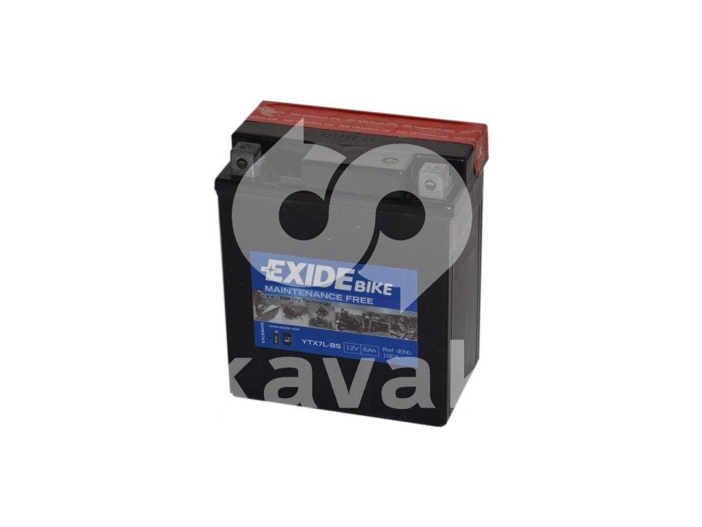 EXIDE 12V 6Ah YTX7L-BS