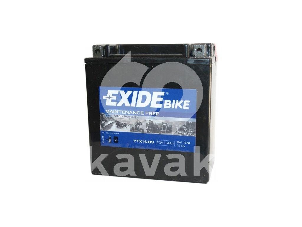 EXIDE 12V 14Ah YTX16-BS
